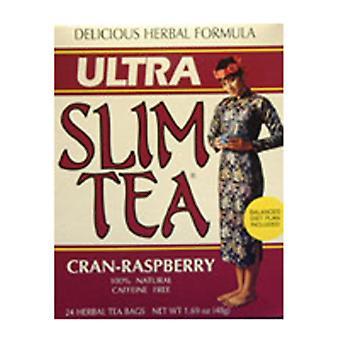 霍贝实验室超薄茶, 克兰树莓 24 袋