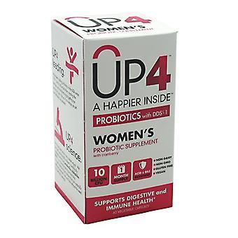 UP4 Women's Probiotic, 10 Billlion CFU, 60 Vcaps