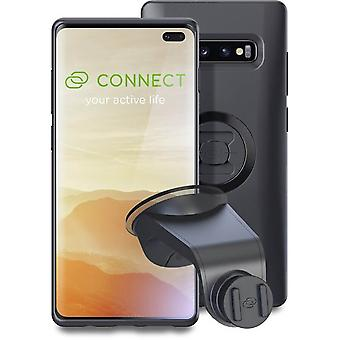 sp connect black samsung galaxy s10+ case and suction mount