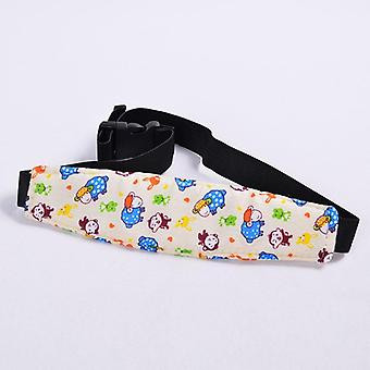 Head Support Belt For Neck Protection , Fasten With Baby Car Seat (30 Cm Long/8