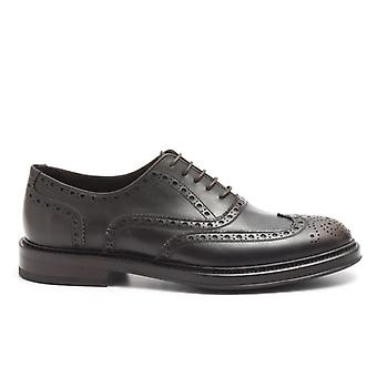 Wilton Oxford Shoe With Brown Leather Holes