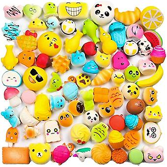 Random 30 Pcs Squishy, Ice Cream Scented Slow Rising Kawaii Simulation Lovely