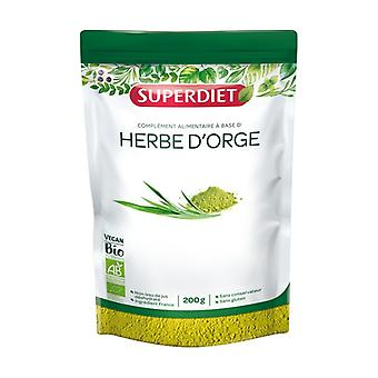 Organic barley grass 200 g of powder