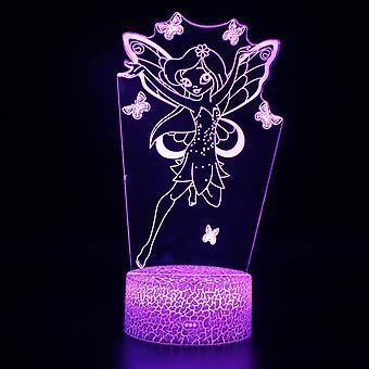 3D Touch Light Night 7 -värit kaukosäätimellä - Ange #877