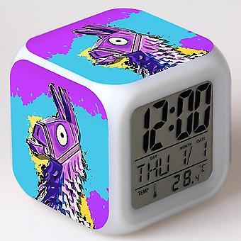 Colorful Multifunctional LED Children's Alarm Clock -Quinze dias #1