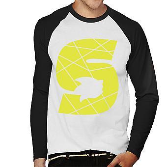 Sonic The Hedgehog Yellow S Men's Baseball Långärmad T-shirt