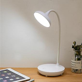 Touch Flexible Neck Desk Lamp Led, Eye-protect Study, Foldable Desktop Usb Home