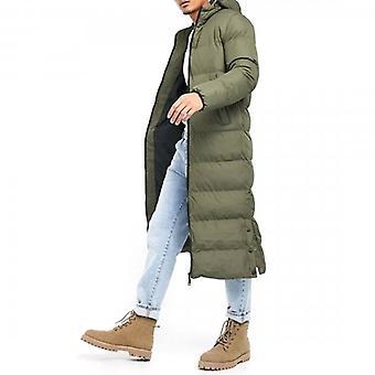 Soul Star Pineapple 20 Extra Longline Puffer Coat Khaki