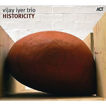 Iyer, Vijay/Trio - Historicity [CD] USA import