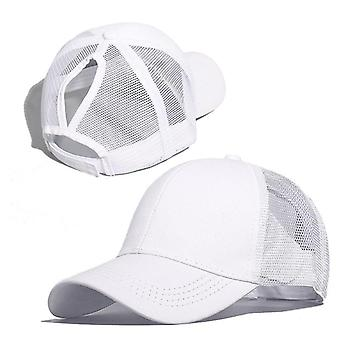Baseball Women Summer Mesh Cotton Casual Cap.