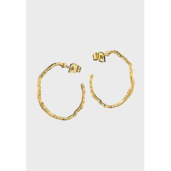 Brincos kalevala feminino moonlit eve 14K ouro 1652050T