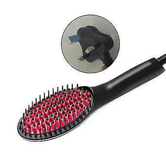 Portable Size Handheld Electric Hair Brushes Straighter - Lcd Display Electric