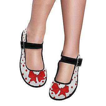 Mary jane shoes - red bow
