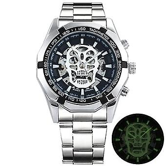 Skeleton Automatic Mechanical Watch Gold Skeleton Vintage Watchs