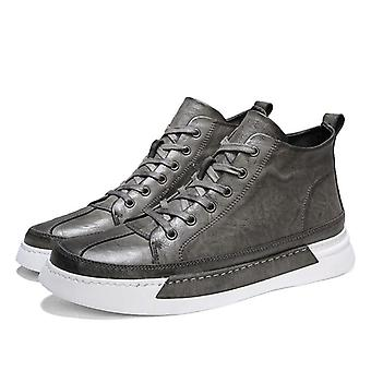 Casual Leather Flats Driving Shoes, High-quality Sneakers
