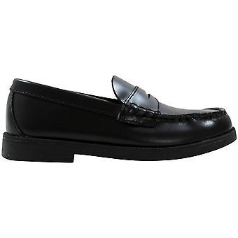 Sperry Colton Black Leather 6185862 Pre-School