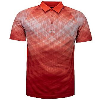 Oakley Barkie Gradient Golf Polo Shirt Mens Print T-Shirt Top 434312 4FR