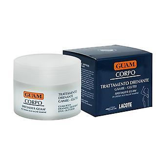 Legs - Buttocks Draining Treatment Body Cream 200 ml of cream