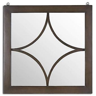 Hill Interiors Vinus Colección Espejo de pared cuadrado