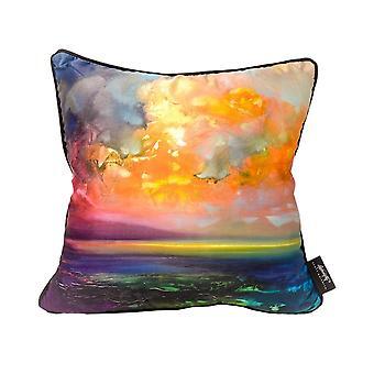 Scott Naismith Isle Of Jura Emerges Feather Filled Cushion