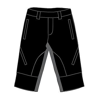 Eigo Zenith Baggy Mens Shorts With Coolmax Liner Black/Slate