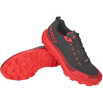 Scott Supertrac Ultra Rc Mens Cushioned Off-road Running Shoes Black/red