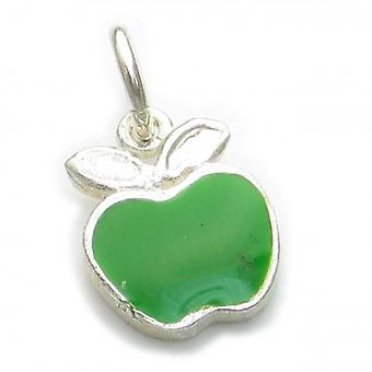 Apple Sterling Silver Charm .925 X 1 Appels Charms - 6316