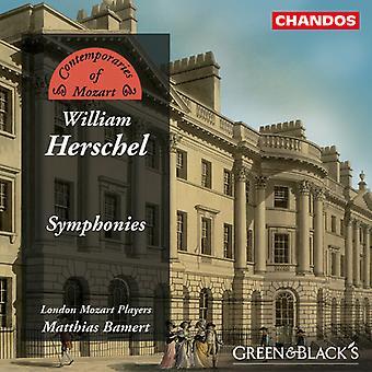 W. Herschel - William Herschel: Symphonies [CD] USA import