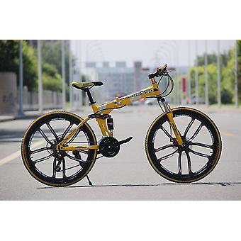4-variable Speeds Dual Brake Folding Bicycle