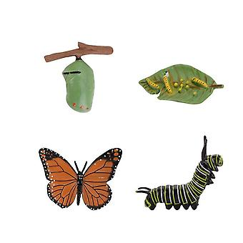 Butterfly Animals Miniature Figurines Model, Creatures Toy Figurines Set