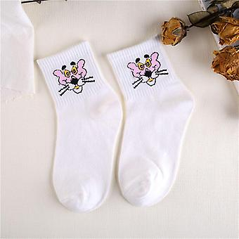 Frauen Tiere Cartoon Tube süße Baumwolle lange Socke