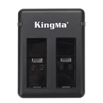 5V 2A Dual Battery Charger Charge 2 Baterie pentru Kingma GoPro Hero5 Hero6
