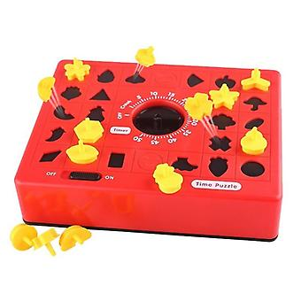 Children Fun Board Games Timing Time Matching Puzzle Educational