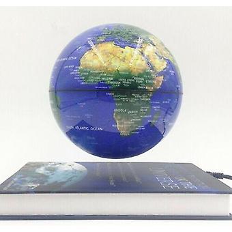 Magnetic Rotating Levitation Floating Globe With Book Base Decor