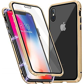 iPhone X/XS Shell with Screen Protector Gold