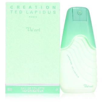 Creation The Vert Eau De Toilette Spray By Ted Lapidus 3.3 oz Eau De Toilette Spray