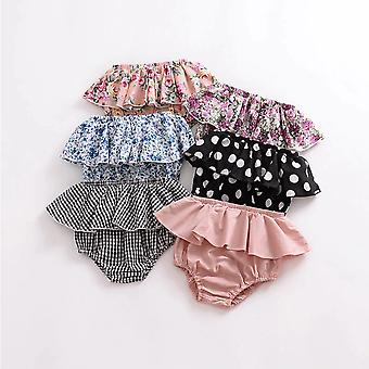 Sommer Mote Fold Bloomers - Mønster Triangle Shorts