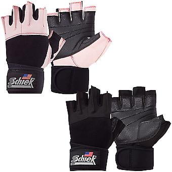 Schiek Sports Platinum 3/4 Finger Wrist Wrap Lifting Gloves