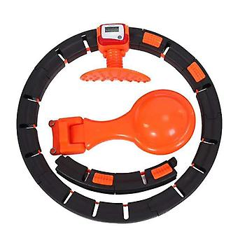 Smart Fitness Circle With Automatic Counting Function,Does Not Fall, Detachable And Adjustable