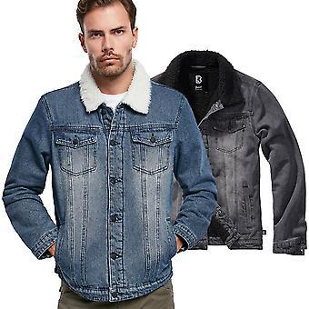 Brandit - SHERPA Denim Teddy Fur Jacket