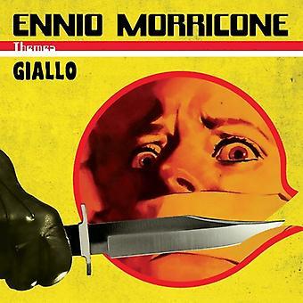 Morricone,Ennio - Giallo Themes (Giallo & Black Marbled Vinyl) [Vinyl] Verenigde Staten import