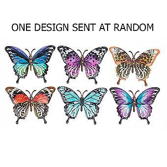 Joe Davies Metallinen pieni perhosseinän taidekonna - Satunnainen muotoilu