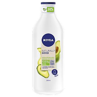 Nivea Loción corporal cuidado intensivo aguacate Naturally Good 350 ml