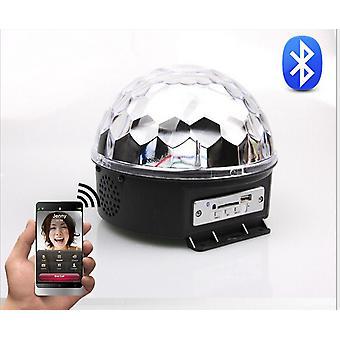 ディスコDJ効果ステージ照明Rgbowp ledMp3 Bluetoothマジッククリスタルボールライト
