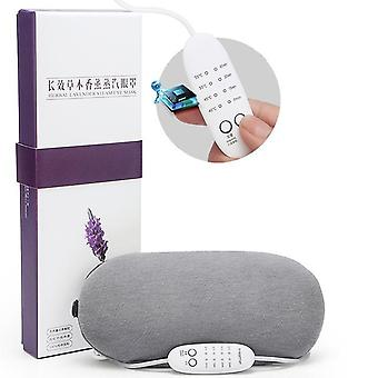 3D ladattava lämmitys höyry uni naamio kuuma pakkaus silmänaamio silmähierontalaite väsymyksen helpotus uni matkustaa silmän varjostin naamio