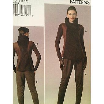Vogue coser patrón 8757 misses señora chaqueta pantalones tamaño 4-10 sin cortar