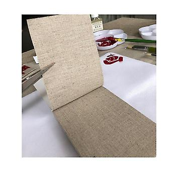 480g Pure Rain Linen Canvas Roll For Artists
