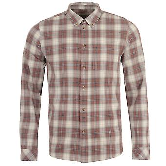 Nudie Jeans Co Chuck Plaid Twill Shirt - Hazel