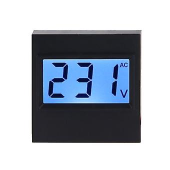 AC 80V-380V Digital Voltmeter LCD Display Volt Panel Meter Voltage Monitor Tester Gauge Dustproof Voltage Display Module