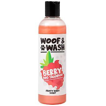 Woof & Vask Frugtagtig Berry Scent Dog Shampoo 250ml